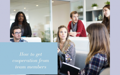 How To Get Co-operation From Team Members